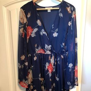Band of Gypsies bohemian floral dress.